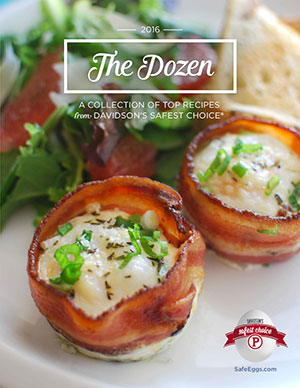 The Dozen recipe booklet