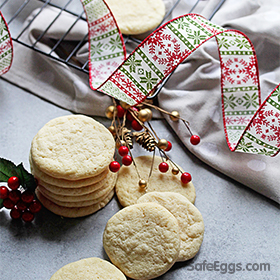 A traditional Italian Christmas cookie that is soft and delicious!