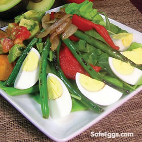 California Niçoise Salad - a great recipe for summertime! ☀