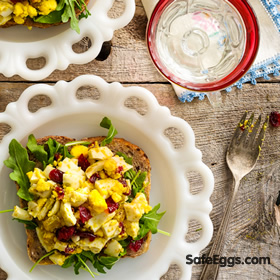 Curried Egg Salad recipe - New take on a traditional favorite!