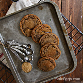 This ginger molasses cookies recipe is a classic and perfect for the holiday baking season,