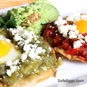 Spice up your #breakfast with this Huevos Divorciados or Divorced Eggs recipe. #Foodie