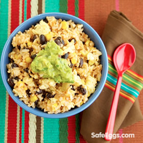 @ Weelicious Mexican Fried Rice recipe - great for Taco Tuesdays!☺