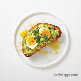 A soft-boiled egg and avocado toast recipe is fast and easy; perfect for busy, weekday mornings!