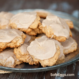 Sweet Potato Cookies with Browned Butter Glaze recipe - a delight for any cookie lover!